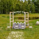 Rustykalny ślub i wesele