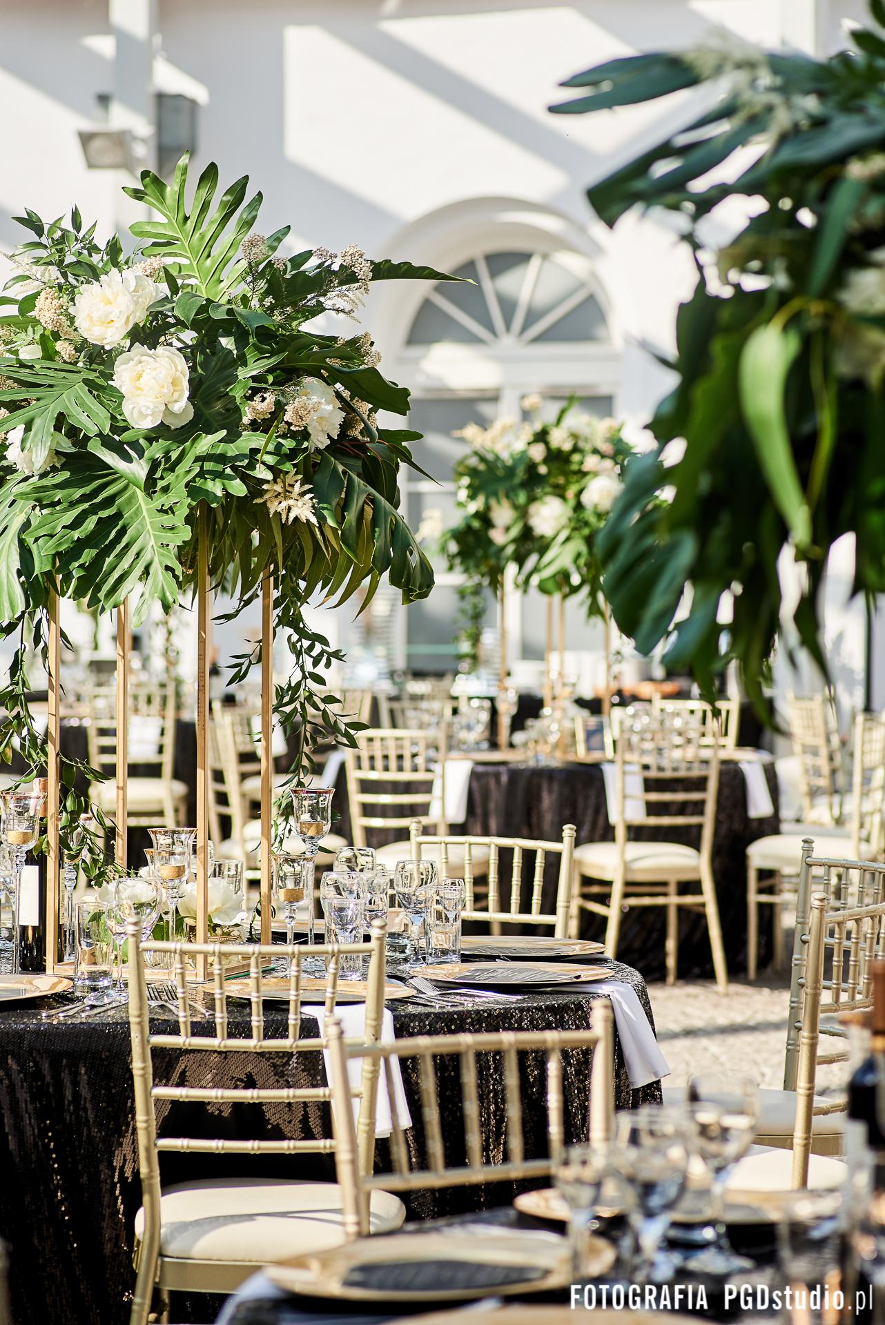 zwadowski wesele kwiaty dekoracja
